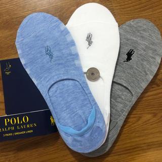 POLO RALPH LAUREN - 新品ポロラルフローレン レディース靴下 ソックス  3足セットB