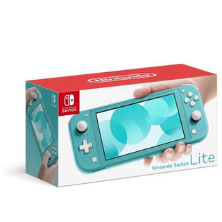 Nintendo Switch - 任天堂Switch Lite ターコイズ 店舗印なし 2020年8月購入