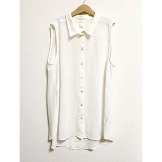 エイチアンドエム(H&M)のH&M♡*+°ノースリーブシャツ ブラウス(シャツ/ブラウス(半袖/袖なし))