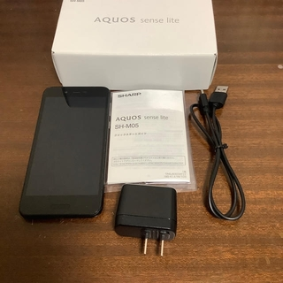 アクオス(AQUOS)のSHARP SIMフリー スマートフォン スマホ sh-m05 防水(スマートフォン本体)