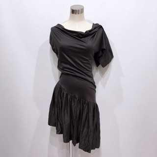 ヴィヴィアンウエストウッド(Vivienne Westwood)のヴィヴィアンウエストウッド アシンメトリー 変形 ドレス ワンピース(ロングワンピース/マキシワンピース)