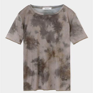 マウジー(moussy)のMOUSSY 新作 TIE DYE SEE THROUGH Tシャツ(Tシャツ(半袖/袖なし))