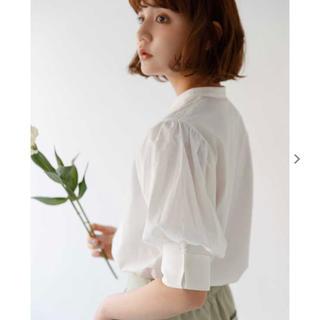 アトリエドゥサボン(l'atelier du savon)のidem Stand Collar Sleeve Shirt(シャツ/ブラウス(半袖/袖なし))
