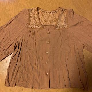 マウジー(moussy)のmoussy レースシャツ (シャツ/ブラウス(半袖/袖なし))