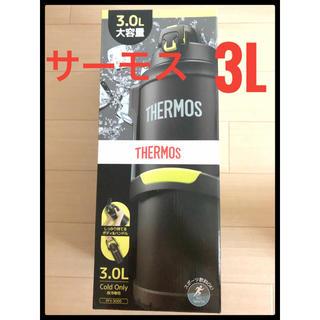 THERMOS - 新品 THERMOS  真空断熱スポーツジャグ 3L ブラックイエロー