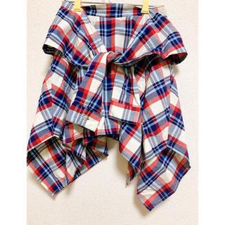 アフリカタロウ(AFRICATARO)のチェック柄 スカート(ひざ丈スカート)