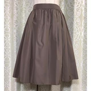 NOLLEY'S - ノーリーズ ブラウンスカート