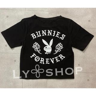 GYDA - GYDA 新品 PLAYBOY bunnies foreverショートTシャツ