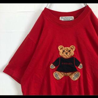 BURBERRY - Burberry オールドバーバリー Tシャツ ビンテージ テディベア 90s