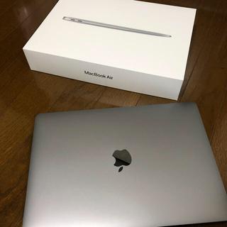 マック(Mac (Apple))のMacBook Air 2020モデル 512GB スペースグレイほぼ新品未使用(ノートPC)