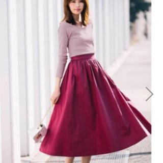 グレイル(GRL)のGRL ロングスカート フレアスカート ブラック グレイル(ロングスカート)