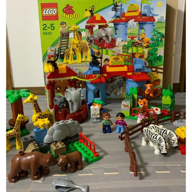 Lego(レゴ)のレゴデュプロ レゴ デュプロ みんなのどうぶつえん 5635 動物園 キッズ/ベビー/マタニティのおもちゃ(積み木/ブロック)の商品写真