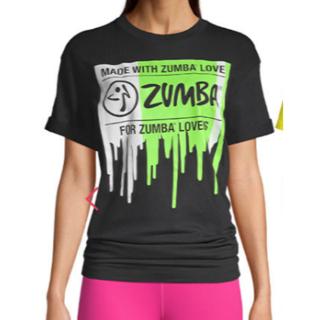 ズンバ(Zumba)の新品 未使用 未開封 ZUMBA ズンバ フリーサイズ 8月11日発売の最新作(Tシャツ(半袖/袖なし))