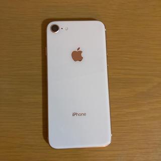 アップル(Apple)の美品 iPhone8 64gb SIMフリー(スマートフォン本体)