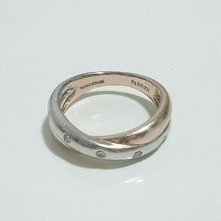 Vendome Aoyama - ヴァンドーム青山 リング 指輪 K18 Pt900 ドッツ 5P ダイヤモンド