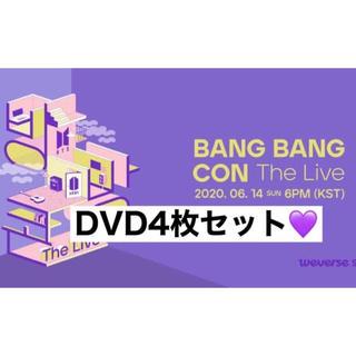 防弾少年団(BTS) - BANG BANG CON THE LIVE DVD 4枚セット