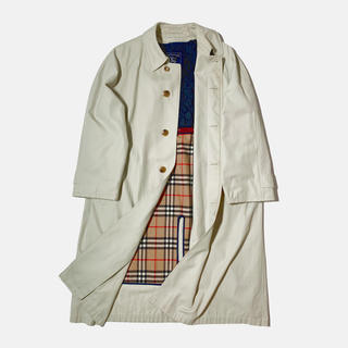 BURBERRY - 【Burberrys】repair Stainless collar coat