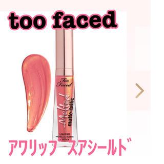 トゥフェイス(Too Faced)のトゥーフェイスド/too faced メルテッド マットタリック リキッドリップ(リップグロス)