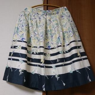 Debut de Fiore - 花柄スカート
