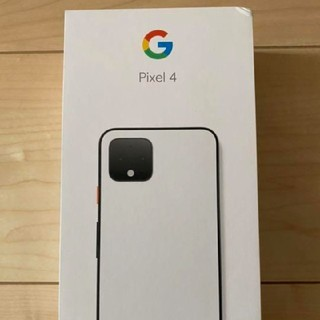 Google Pixel4 64GB clearly white