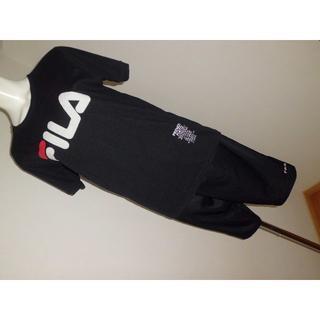 フィラ(FILA)のLサイズ2枚★フィラFILA★ロゴTシャツ★ポリエステルパンツスポーツウエア(ウォーキング)
