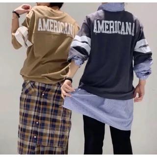 ドゥーズィエムクラス(DEUXIEME CLASSE)のアメリカーナ  フットボールT(Tシャツ(長袖/七分))