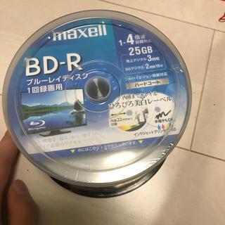 マクセル(maxell)の夏休み特番の録画に★ BD-R 録画用 Maxell 25GB 50枚入(ブルーレイレコーダー)