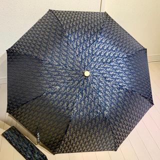 Christian Dior - 未使用 レア ディオール トロッター 折りたたみ 携帯 日傘 傘