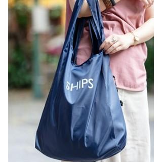 シップス(SHIPS)の新品 SHIPS エコバッグ ネイビー(エコバッグ)