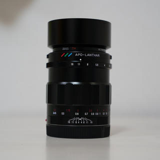 SONY - フォクトレンダー APO-LANTHAR 50mm F2 Aspherical