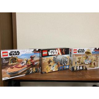 レゴ(Lego)のLEGO ☆ レゴ スターウォーズ 3点セット(SF/ファンタジー/ホラー)