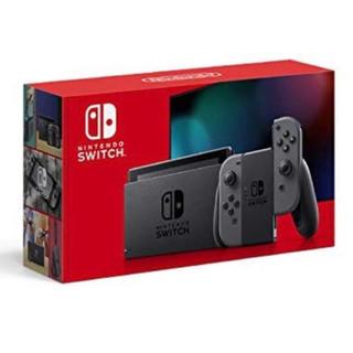 Switch 本体  ニンテンドースイッチ グレー NEWモデル
