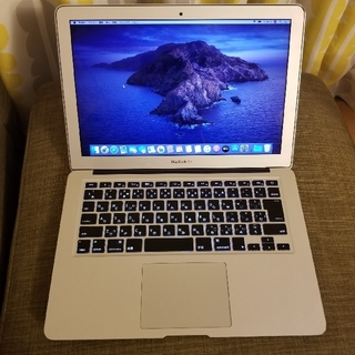 マック(Mac (Apple))のMacBook Air (13-inch, Mid 2013)(ノートPC)