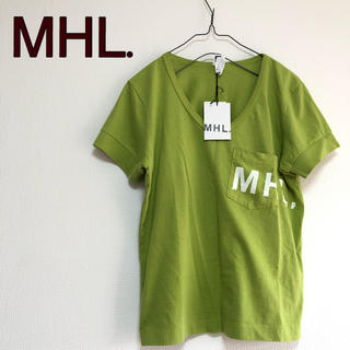 マーガレットハウエル(MARGARET HOWELL)の新品タグ付き!MHL マーガレットハウエル  Tシャツ カットソー トップス(Tシャツ(半袖/袖なし))
