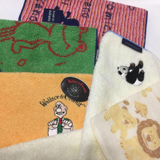 子どもハンカチ  6枚 キッズ/ベビー/マタニティのこども用ファッション小物(その他)の商品写真