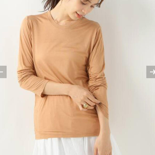 IENA - Baserange Long Sleeve Tee nude3