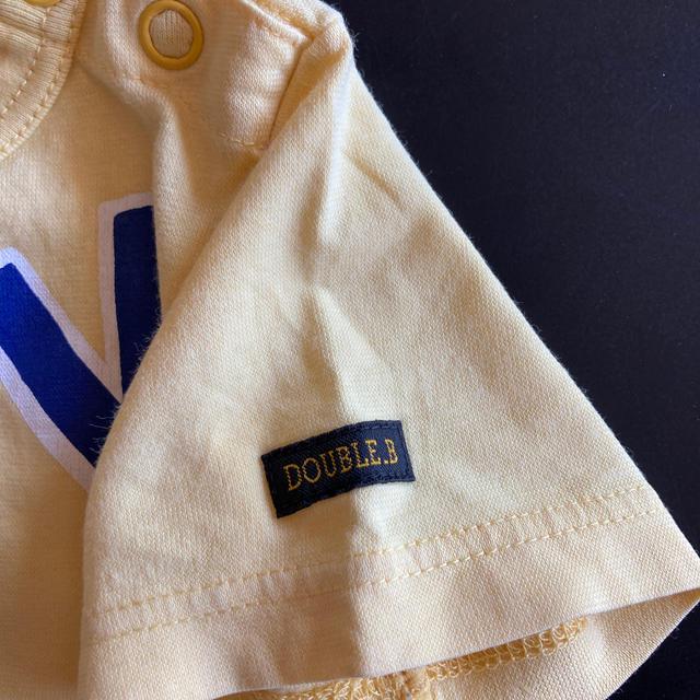 DOUBLE.B(ダブルビー)のDOUBLE-B 90 Tシャツ キッズ/ベビー/マタニティのキッズ服男の子用(90cm~)(Tシャツ/カットソー)の商品写真