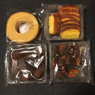 大人気♡香月堂 バームクーヘン&パウンドケーキ 食べ比べセット 約1.3kg