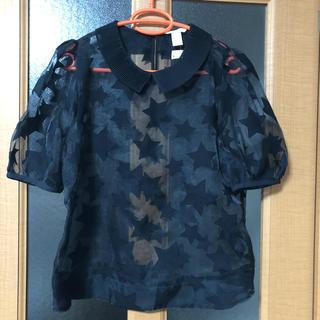 エイチアンドエム(H&M)の新品 エイチアンドエム トップス (シャツ/ブラウス(半袖/袖なし))