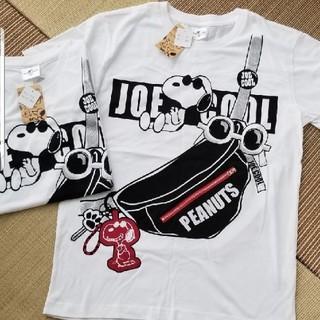 スヌーピー(SNOOPY)のUSJ スヌーピー Tシャツ Lサイズ 在庫ラスト1枚 新品タグつき(Tシャツ(半袖/袖なし))