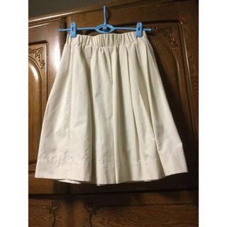 バビロン(BABYLONE)のスカート ♡白(ひざ丈スカート)