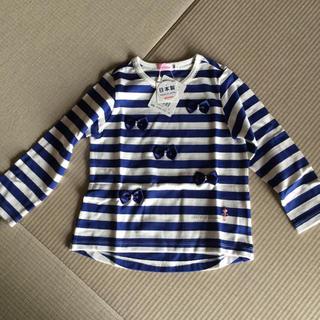mikihouse - ミキハウス 長袖Tシャツ サイズ100 新品未使用品