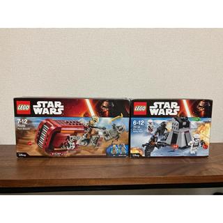 レゴ(Lego)のLEGO ☆ レゴ スターウォーズ 2点セット レイ(SF/ファンタジー/ホラー)