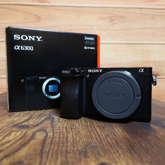SONY(ソニー)のα6300 本体 スマホ/家電/カメラのカメラ(ミラーレス一眼)の商品写真