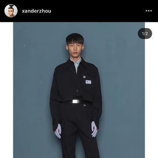 RAF SIMONS - xanderzhou  カバーオール シャツジャケット