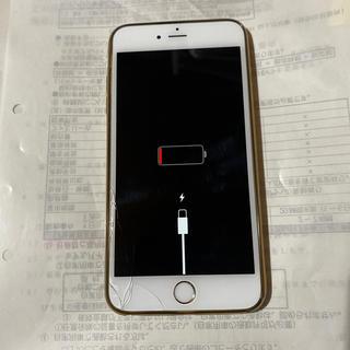 アイフォーン(iPhone)のiPhone6plus ホワイト(スマートフォン本体)