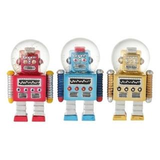 Francfranc - Francfranc スノードームロボット3個セット