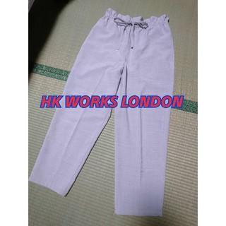 しまむら - しまむら HK WORKSLONDONワイドパンツ テーパードパンツ M