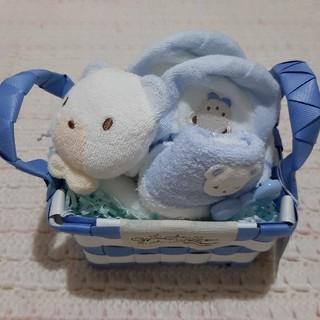 ファミリア(familiar)のファミリア スタイ タオル プレイグロー ギフトセット 出産祝い ファミちゃん(その他)