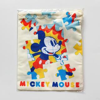 ディズニー(Disney)の第一生命 ディズニー ミッキー 巾着 きんちゃく ポーチ(キャラクターグッズ)